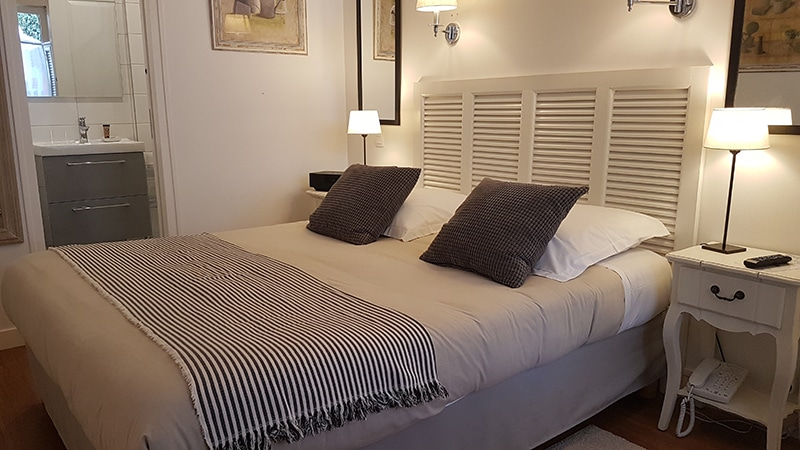 Chambre confort terrasse